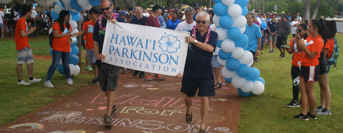 Hawaii Parkinson Walk November 2019